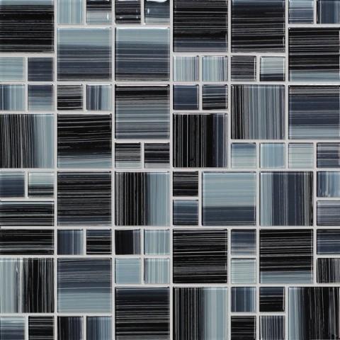 Mozaika Šedá Mix NO-63