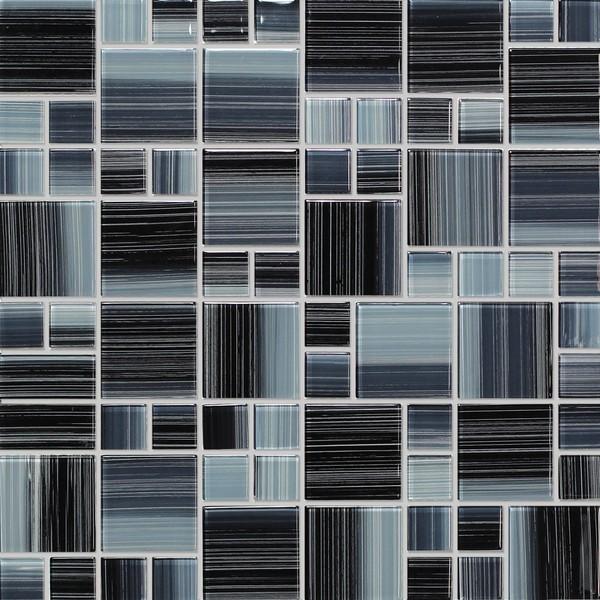 Mozaika Šedá Mix NO-63 30 x 30 cm