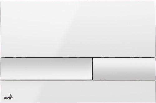 Ovládací WC tlačítko FLAT ALUNOX M1730