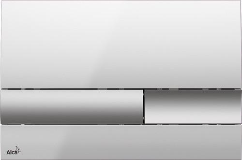 Ovládací WC tlačítko FLAT ALUNOX M1743