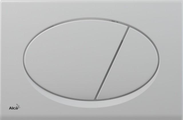 Ovládací WC tlačítko FLAT ALUNOX M70