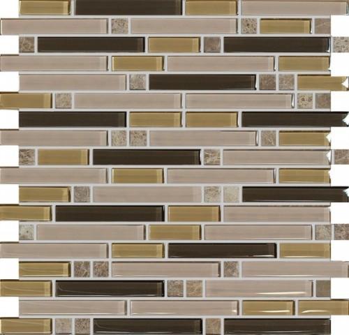 Mozaika Hnědá Mix ST15Z-13