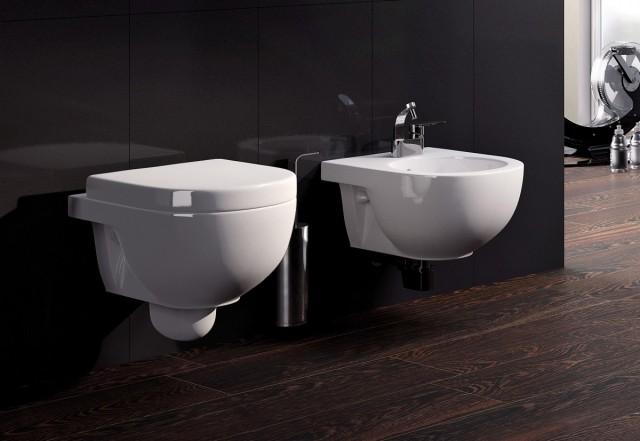 WC sedátko s přesahem a brzdičkou FLAMINIA Quick