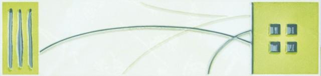 Listela IVANA Zelená