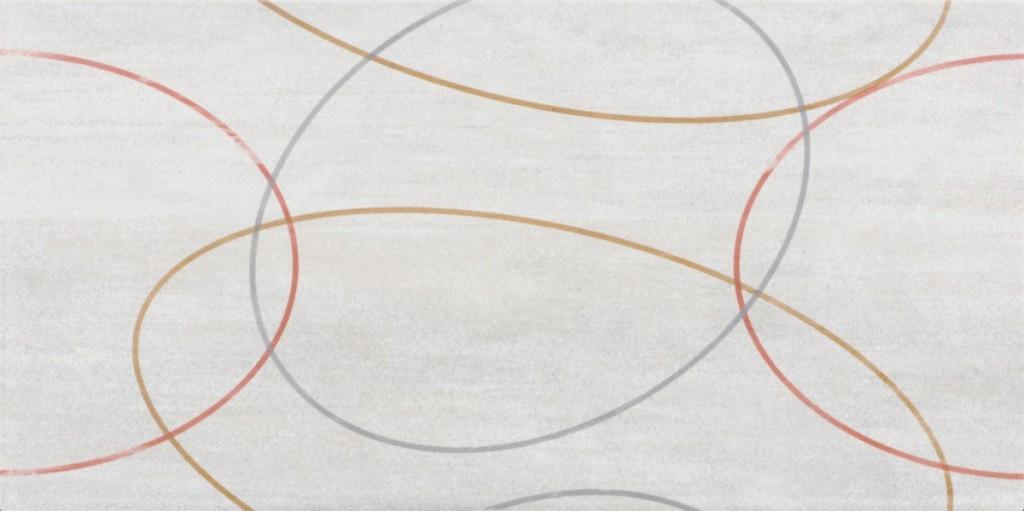 Dekor BALVANO Kruhy 20 x 40 cm