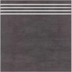 Schodovka BALVANO Schwarz 33,3 x 33,3 cm