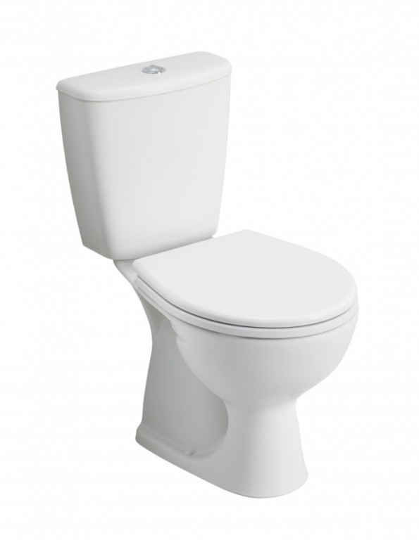 WC kombi se svislým odpadem 3/6L a hlubokým splachováním REKORD