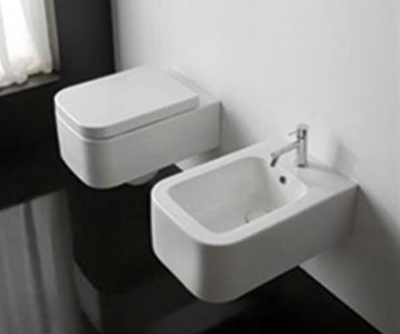 Závěsná keramická WC mísa SCARABEA Next