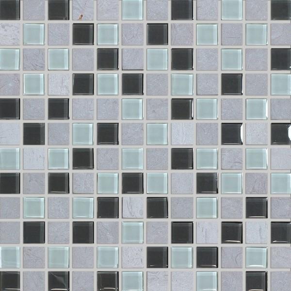 Mozaika Bílo-šedá Mix ST23010