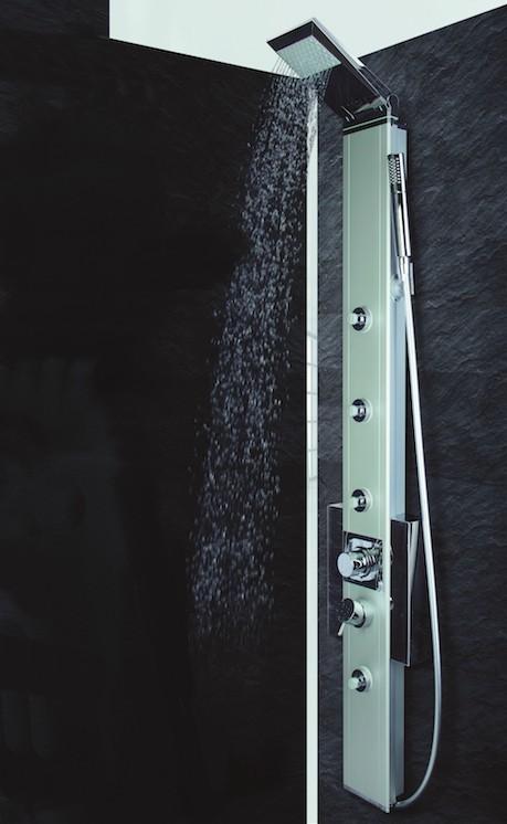 Nástěnný sprchový panel s pákovou baterií PRISMA EVO