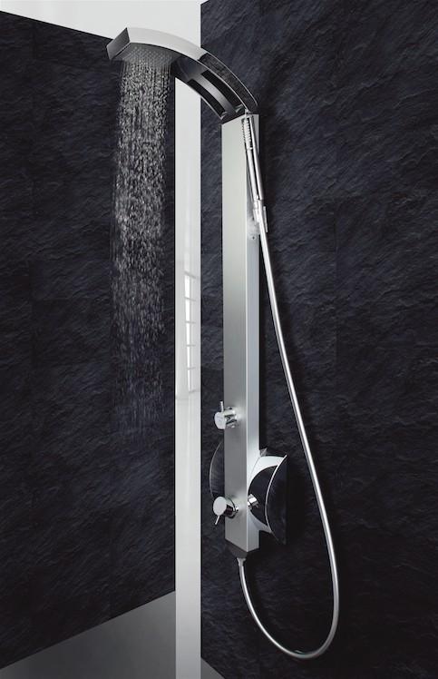Sprchový panel IDEA s pákovou/termostatickou baterií