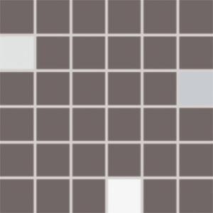 Mozaika CONCEPT PLUS, 5 x 5 cm, Tmavě šedá - WDM05011 č.1