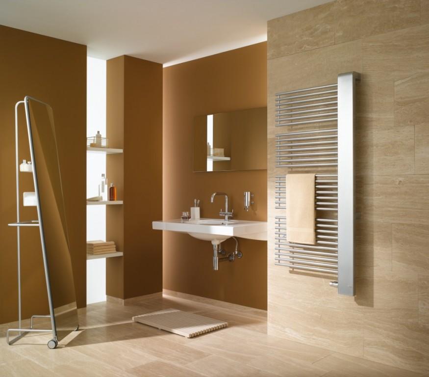 Koupelnový designový radiátor Credo HALF