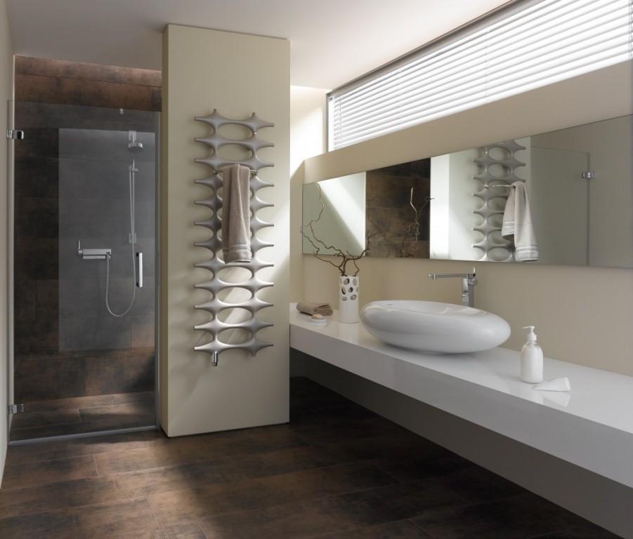 Koupelnový designový radiátor Ideos - V