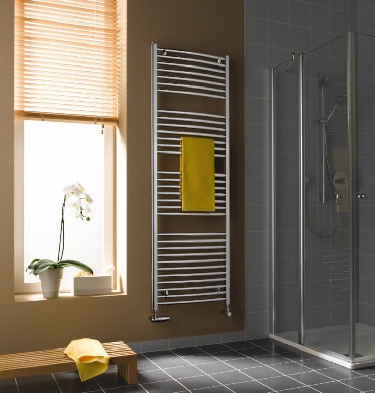 Koupelnový obloukový radiátor B24 R