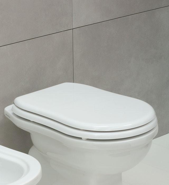WC sedátko s chromovými panty FLAMINA Efi