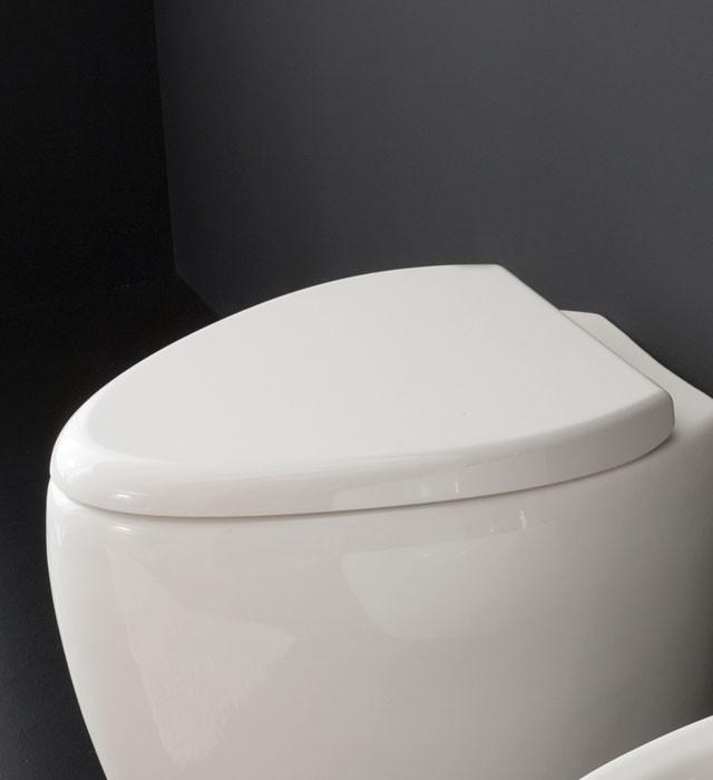 WC sedátko s brzdičkou SCARABEO Moai