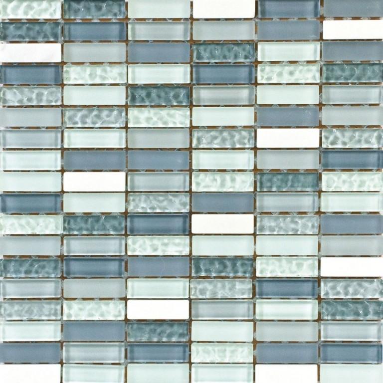 Skleněná mozaika GALERY Modrá 240
