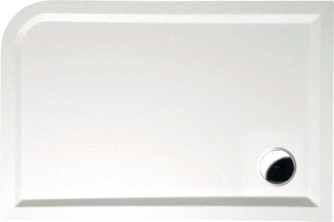 Sprchová vanička z litého mramoru, obdélník STYX L/P 120x80x4cm
