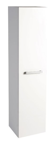 Vysoká postranní skříňka VEGA 35x150x31cm, levá/pravá, bílá
