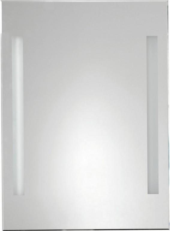 Podsvícené fasetové zrcadlo 50x70 cm