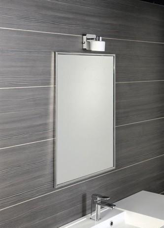 Zrcadlo v nerezovém rámu IXON 60 x 80 cm
