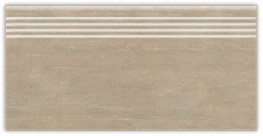 Mrazuvzdorná schodovka BALVANO Grau 30 x 60 cm