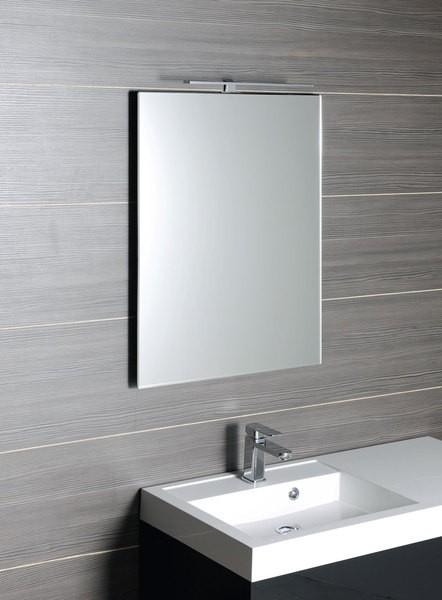Zrcadlo s fazetou WEGA 50 x 70 cm