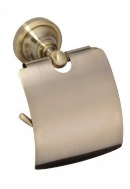 Držák toaletního papíru bronz RETRO 14 x 15 x 10 cm