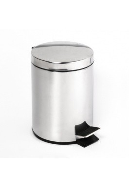 Odpadkový koš OMEGA nerez - lesk