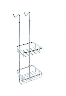 Závěsná police do sprchy chrom CYTRO 17 x 70 x 26 cm