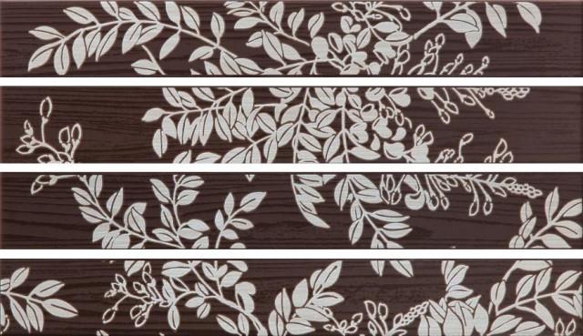 Listela WENGE, 45 x 5,7 cm, Hnědá - WLAPP001