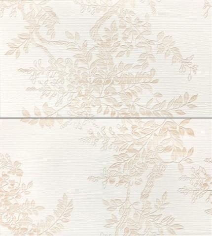 Dekor WENGE, 25 x 45 cm, Bílá - WITP3019