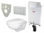 Akční WC set 5 v 1, předstěnový instalační systém pro zazdívání A100/1000 Alcamodul