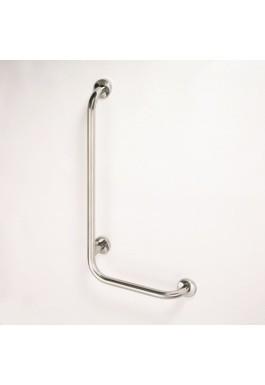 Nástěnné opěrné držadlo nerez HELP 89 x 63 x 11 cm pravá
