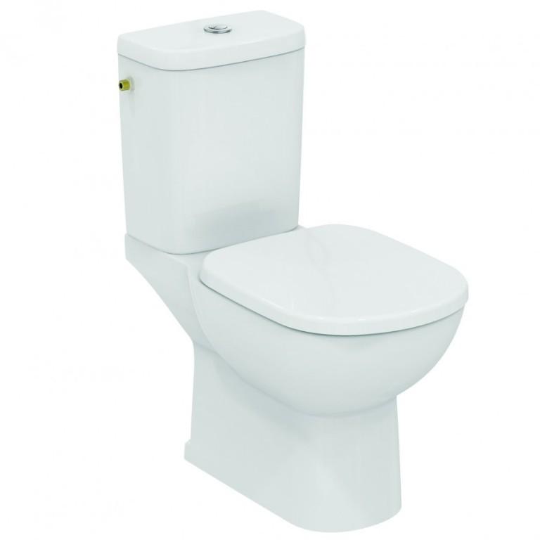 Klasické WC kombi GEMMA II, vodorovný odpad
