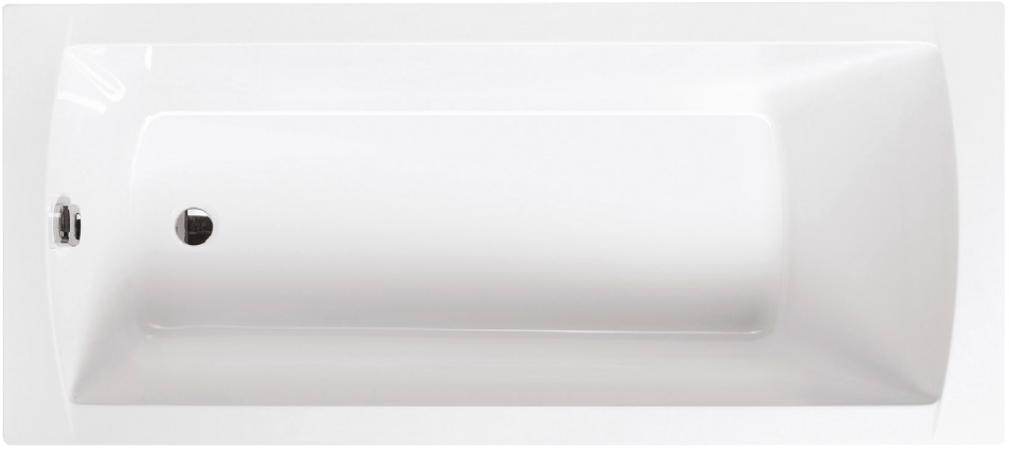 Obdélníková akrylátová vana SPRING 140 x 70 cm