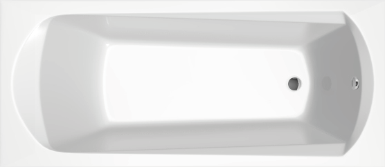 Obdélníkové akrylátové vany DOMINO