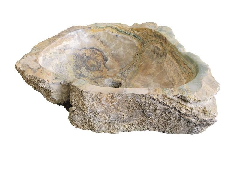 Kamenné umyvadlo Jurassic Onyx 40 x 60 x 15 cm