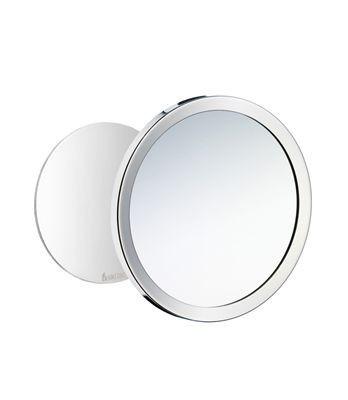 Samolepící kosmetické zrcátko chrom OUTLINE 15,2 cm