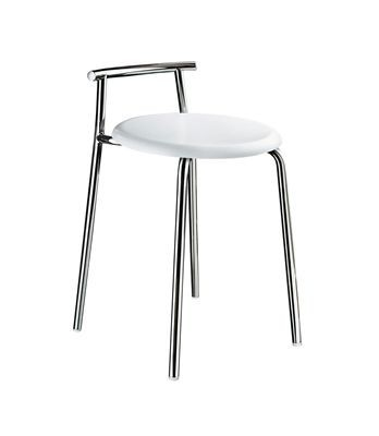 Sprchová stolička leštěná ocel OUTLINE 60 x 34 cm
