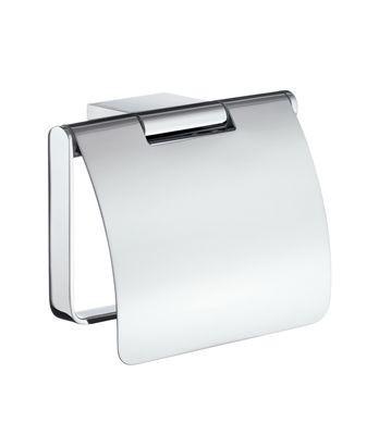 Držák toaletního papíru s krytem chrom AIR 12,6 x 8,8 x 10,6 cm