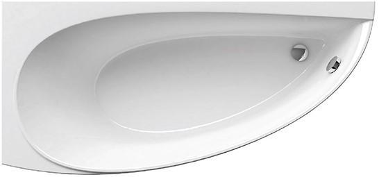 Asymetrické akrylátové vany AVOCADO