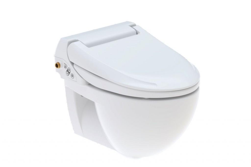 Elektronické bidetové sedátko s keramickou WC mísou AQUACLEAN 4000 set, 400 x 520 mm