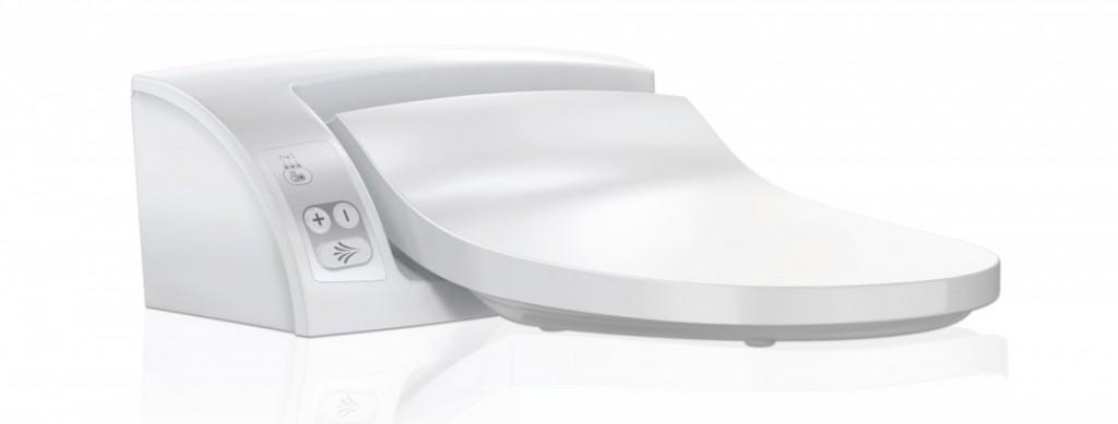 Elektronické bidetové sedátko AQUACLEAN 5000 plus, 485 x 550 mm