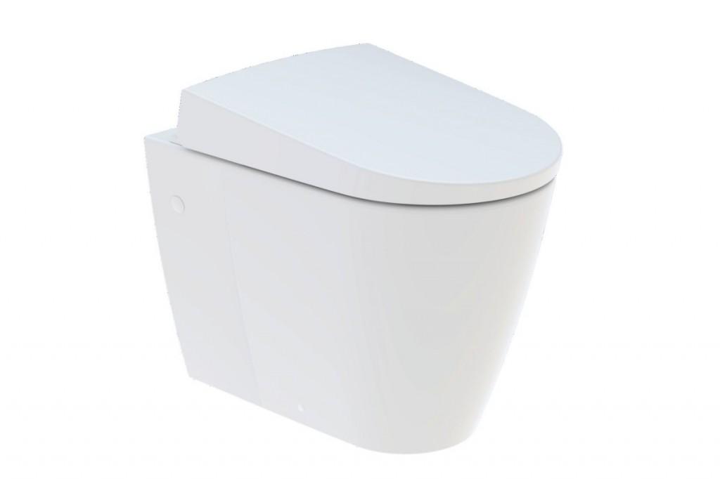 Stojící WC s integrovanou sprchou AQUACLEAN Sela, 385 x 585 x 510 mm