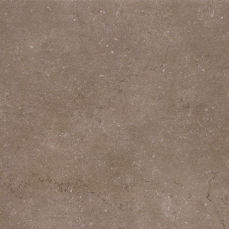 Univerzální velkoformátová dlažba v imitaci betonu DAISEN Brown 60x60 cm, rektifikovaná