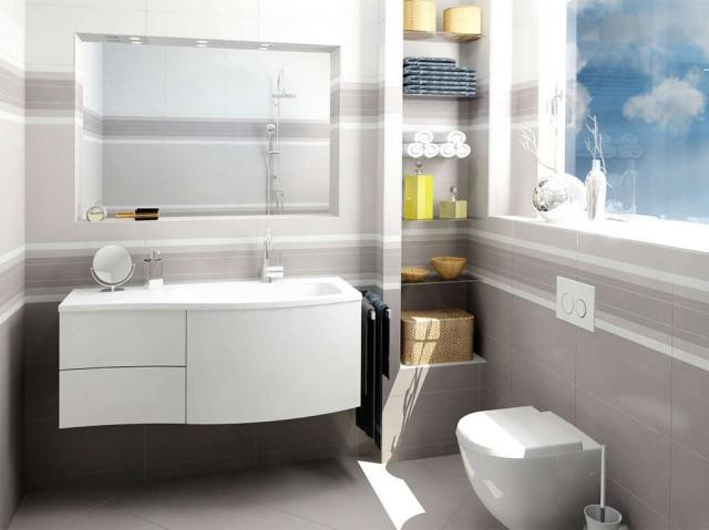 Interiérový obklad HABITAT Grey 25x50 cm č.4