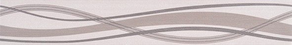 Listela s vlnkami HABITAT Waves Ice 7x50 cm