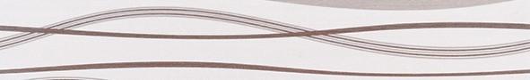 Listela s vlnkami HABITAT Waves Ice Noce 7x50 cm